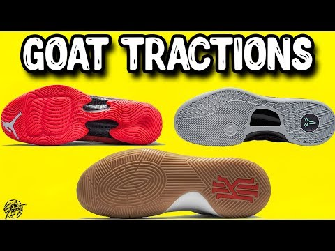 Top 10 GOAT Tractions/Outsoles on Basketball Shoes!