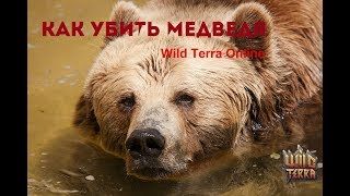 Wild Terra Online - УБИЙСТВО МЕДВЕДЯ
