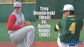 Wall 6 Red Bank Catholic 1 | HS Baseball | Trey Dombroski 2-hitter 11 K's!