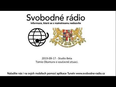 Tomio Okamura: Tomio Okamura ve Svobodném rádiu 17.9.2019.