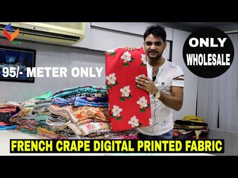 French Crape Digital Print