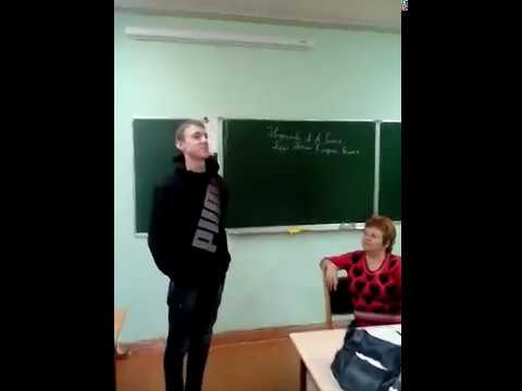 """Школьник прочитал стихотворение """"Не от мира сего"""" oxxxymiron"""