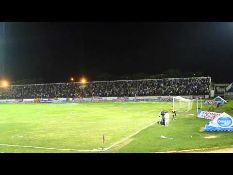 """""""Hinchada Unión Magdalena - Estadio Eduardo Santos - Final 27/06/2012"""" Barra: Garra Samaria Norte • Club: Unión Magdalena"""