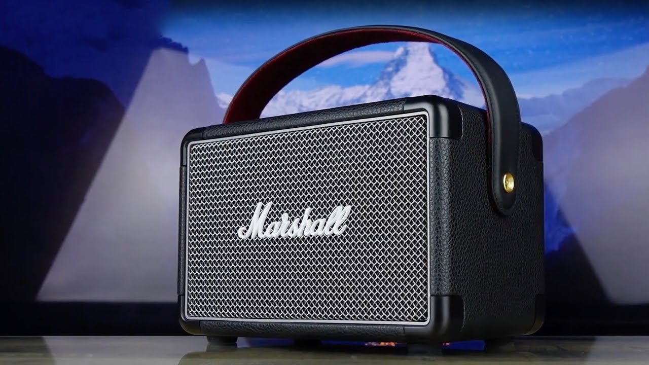 Акустика Marshall Portable Speaker Kilburn II (Grey) 1001897 video preview