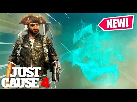 Just Cause 4 - GHOST SHIP & PIRATE OUTFIT!