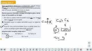 Eğitim Vadisi 9.Sınıf Fizik 20.Föy Isı ve Sıcaklık Konu Anlatım Videoları