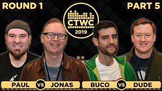 2019 CTWC Classic Tetris Rd. 1 - Part 5 - JONAS/MEGARETROMAN + BUCO/DUDE