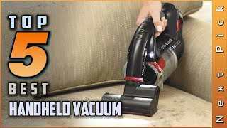 Top 5 Best Handheld Vacuum Review in 2020