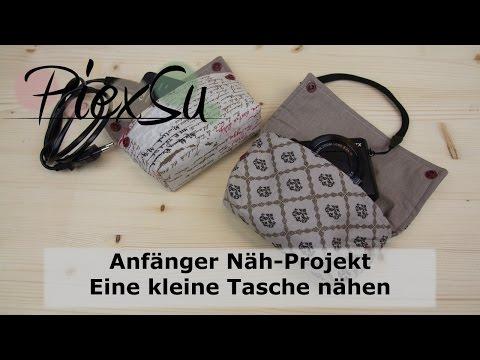Nähanleitung - Anfänger Näh Projekt - Eine kleine Tasche nähen | PiexSu