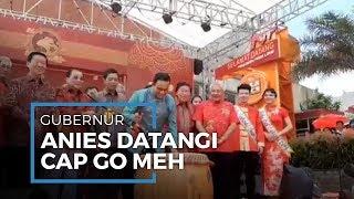 Melihat Perayaan Cap Go Meh Di Jakarta Barat, Anies Baswedan Ikut Rayakan Pakai Baju Tionghoa