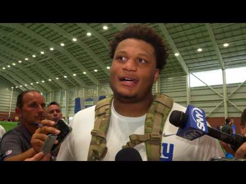 Ereck Flowers On Moving to Right Side