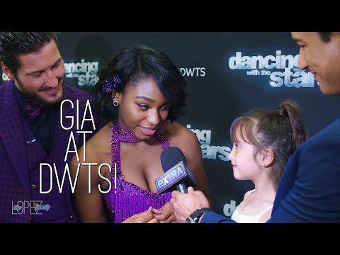 Gia Lopez Interviews Semi-Finalists at Dancing With the Stars!