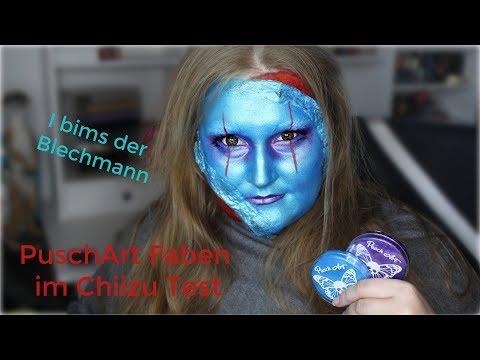 PuschArt Bodypainting Farben Review & Look