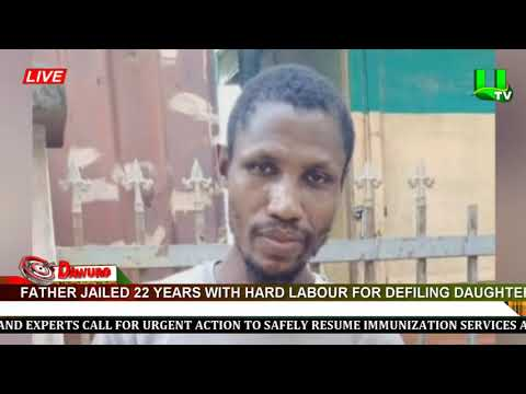 Father jailed 22 years with hard labour for defiling daughter