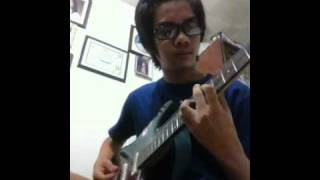 Conversations with fire chicosci guitar cover