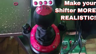 Improve your Logitech Shifter for more Realism UNDER $10! (Works with G25/G27/G29/G920)