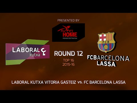 Highlights: Top 16, Round 12, Laboral Kutxa Vitoria Gasteiz 75-71 FC Barcelona Lassa