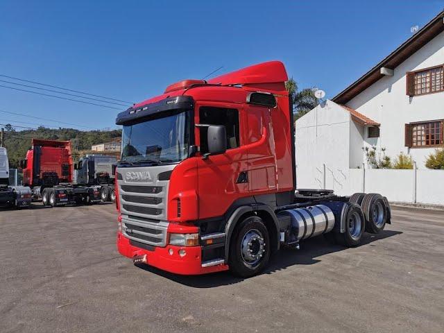 Vídeo do caminhão R420 6x2 Semi Automático