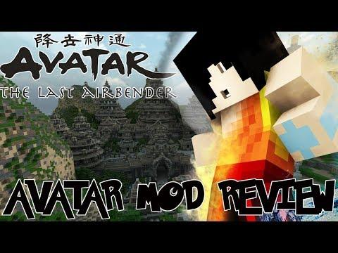 SUB BENDING, LIGHTNING BENDING, ICE & MORE! || Minecraft Avatar Mod Review
