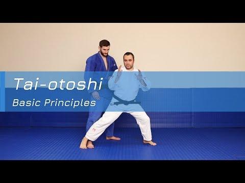 Tai-otoshi - Basic principles