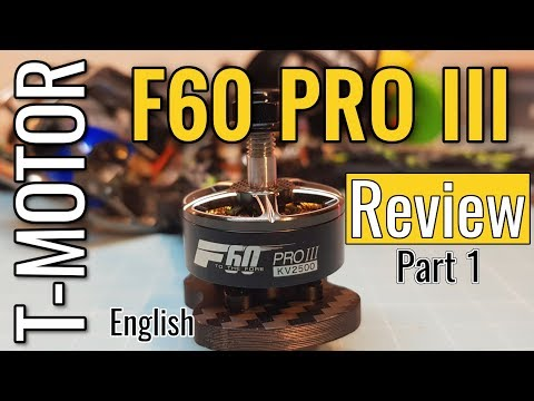 T-Motor F60 Pro III (v3) - From Banggood - First View