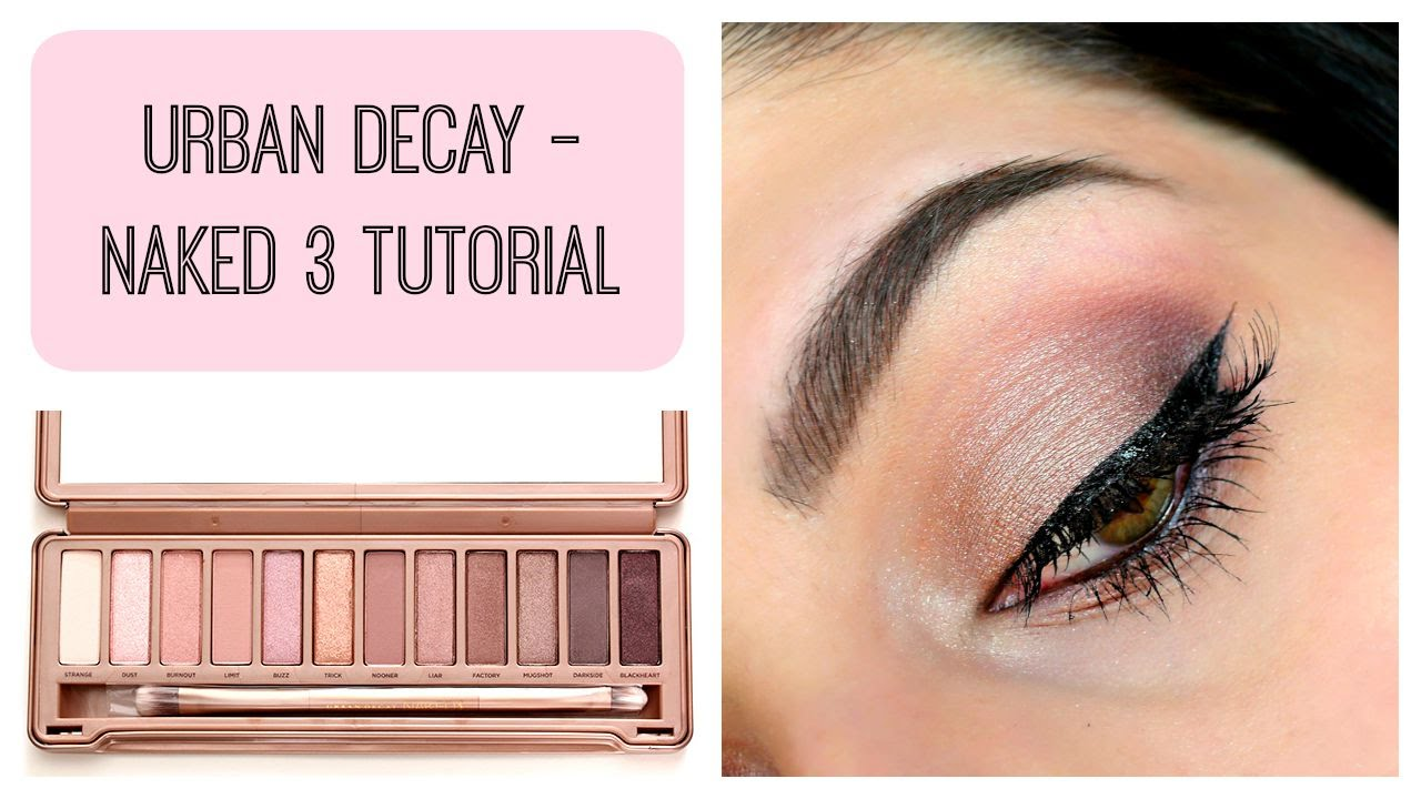 Urban Decay Naked 3 Tutorial – Cool-toned Shimmer