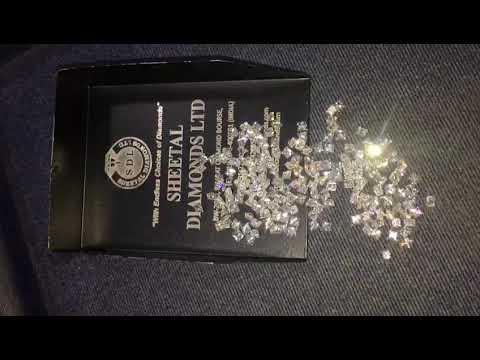 Princess Cut Natural White Loose Diamond Lot