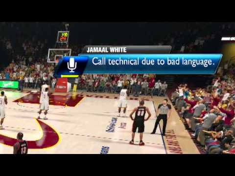 Swearing At The Ref In NBA 2K14 Still Gets You A Foul