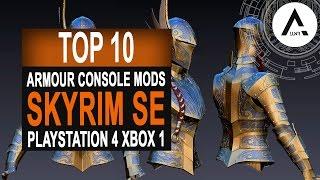 Skyrim Special Edition - Top 10 Armour Mods - PlayStation 4 & Xbox 1 Mods
