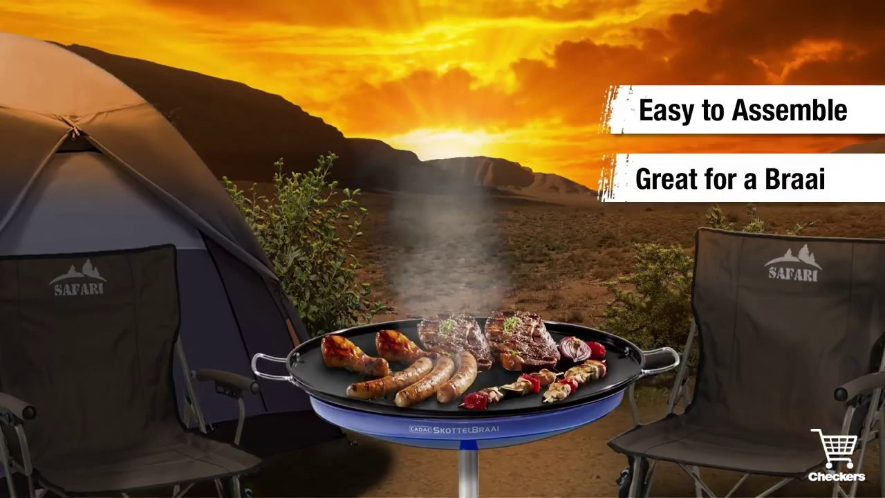 Perfect your outdoor cooking skills with this Budget Skottel Braai | Checker