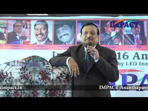 Study|Yandamuri Veerendranath| TELUGU IMPACT Anantapur 2016