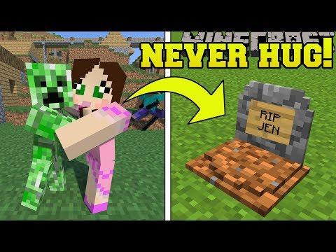 , title : 'Minecraft: *NEVER* HUG CREEPERS!!! - CREEPER'S WORLD - Custom Map'