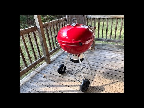Weber Limited Edition Red Kettle/Slow N Sear