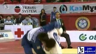 Judo 2012 World Masters Almaty: Sobirov (UZB) - Kossayev (KAZ) [-60kg]