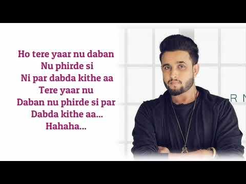 Dabda Kithe Aa (Lyrics) R Nait & Gurlez Akhtar | Mista Baaz