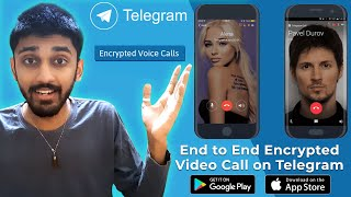 🔥 End to End encrypted Video Call on Telegram Android & iOS⚡ | TECHBYTES