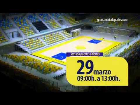 Pabellón Gran Canaria Arena - Puertas Abiertas