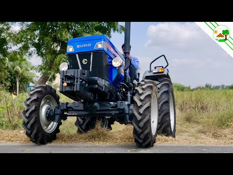 POWERTRAC  EURO 45 and 50 Plus New Tractor specification | 4WD Tractor