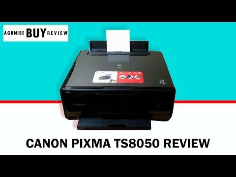 Canon Pixma TS8050 Printer Review & Setup