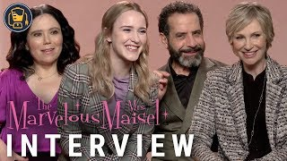 The Marvelous Mrs. Maisel Cast Interviews with Rachel Brosnahan, Tony Shalhoub and More