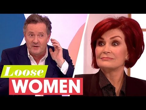 Piers Morgan Was Once Nearly Strangled by Sharon Osbourne! | Loose Women