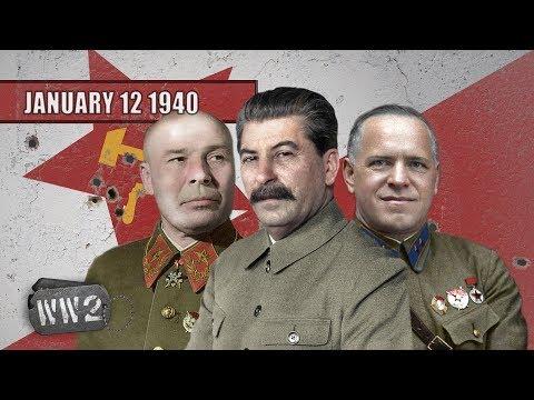 Sověti vyvozují důsledky finské kampaně - Druhá světová válka
