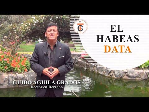 EL HABEAS DATA - Tribuna Constitucional 98 - Guido Aguila Grados