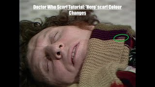 Doctor Who Scarf Tutorial: 'Hero' Scarf Colour Changes [CC]