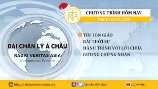 CHƯƠNG TRÌNH PHÁT THANH, THỨ TƯ 01012020