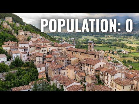 Deze Italiaanse stad is van de ene op de andere dag verdwenen