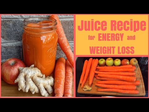Video Juice Recipe for Weight Loss and Healthy Skin