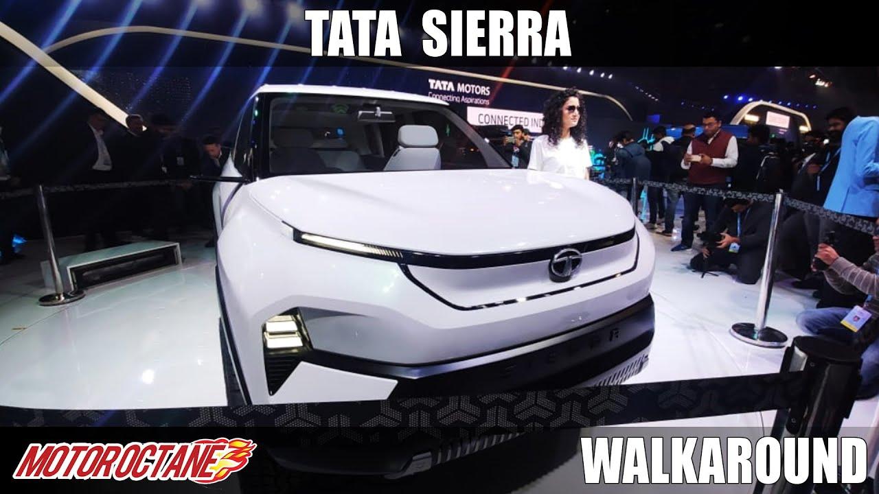 Motoroctane Youtube Video - Tata Sierra Comes back - LOVE | Auto Expo 2020 | Hindi | Motoroctane