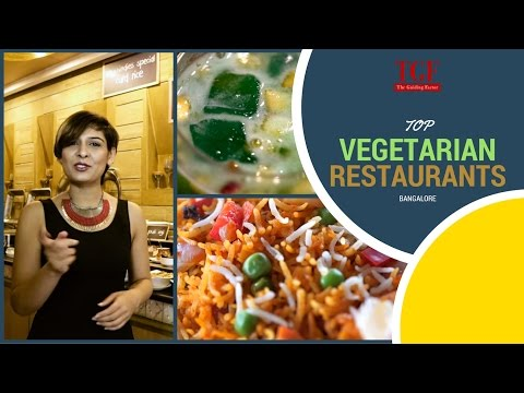 Top vegetarian Restaurants in Bangalore