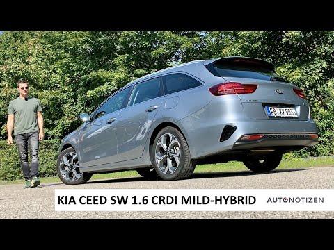 Kia Ceed SW 1.6 CRDi Mild-Hybrid 2020: DCT und iMT im Vergleich, Review, Test, Fahrbericht